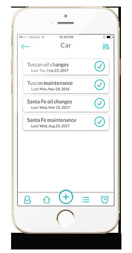 List Tracker item